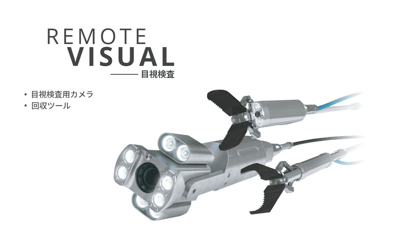 Remote Visual 目視検査