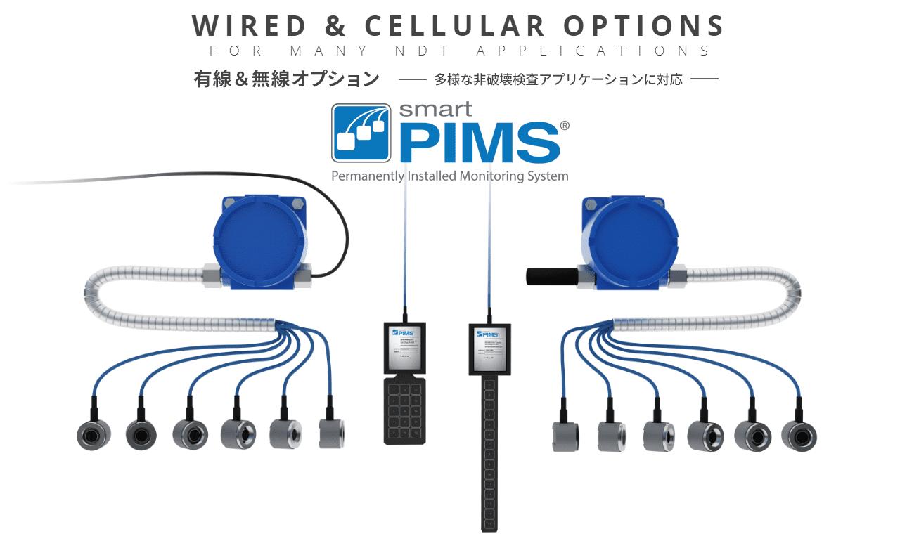 smartPIMS有線システム smartPIMS無線システム